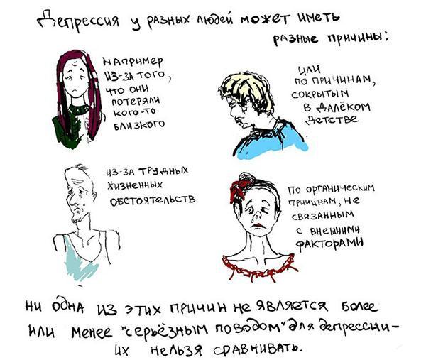 причины эндогенной депрессии