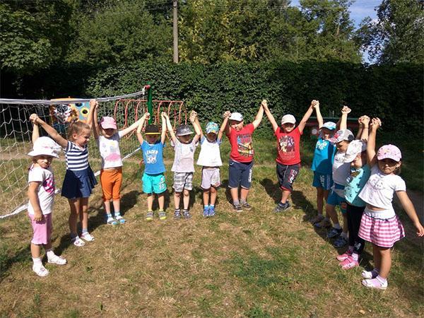 тимбилдинг для дошкольников