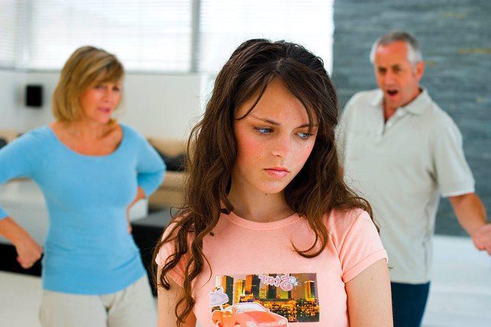 родители не понимают дочь подростка