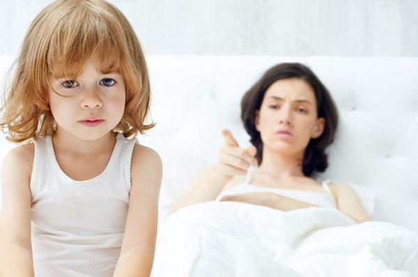 отчуждение - неправильное воспитание