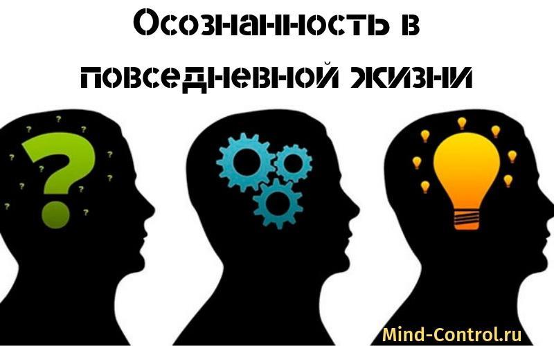 осознанность в повседневной жизни