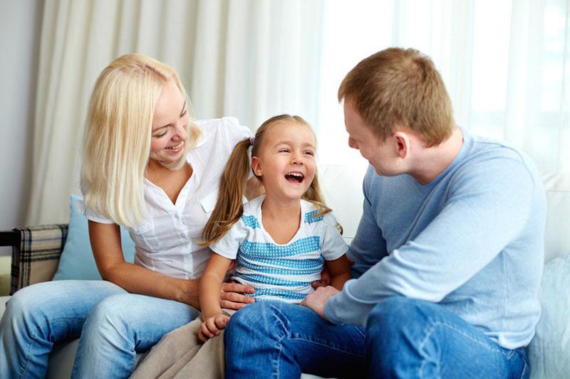 близкий контакт с ребенком