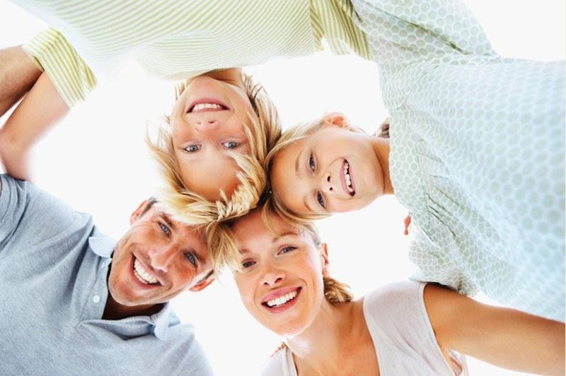 семейное воспитание - одна команда
