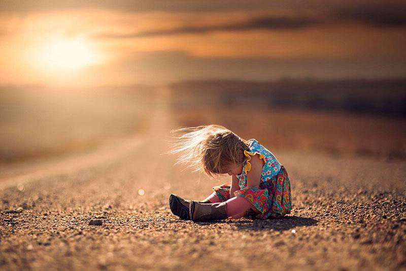 грустное и одинокое детство