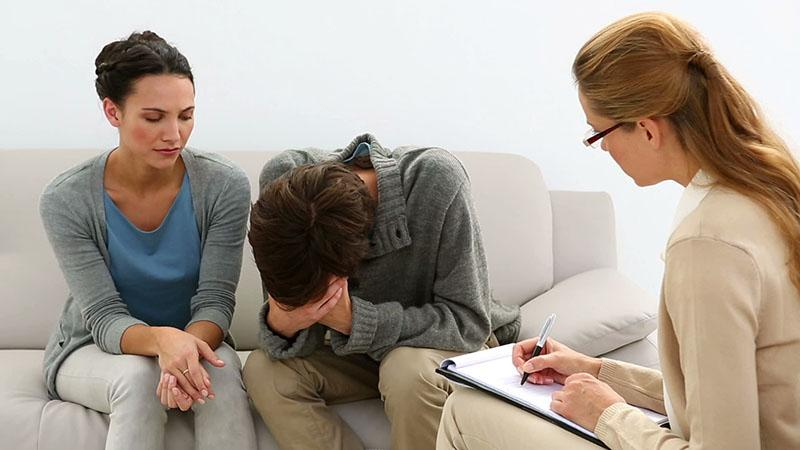 работа с психологом