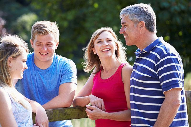 знакомство с родственниками