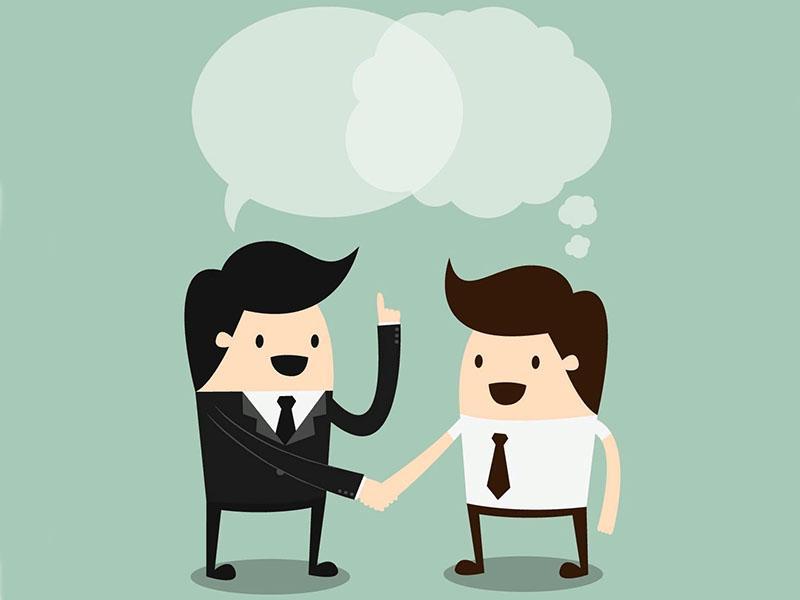 общение двух людей