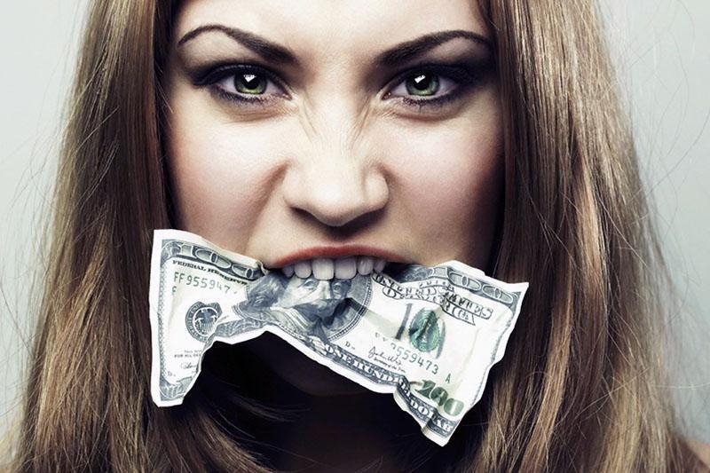 страсть к деньгам