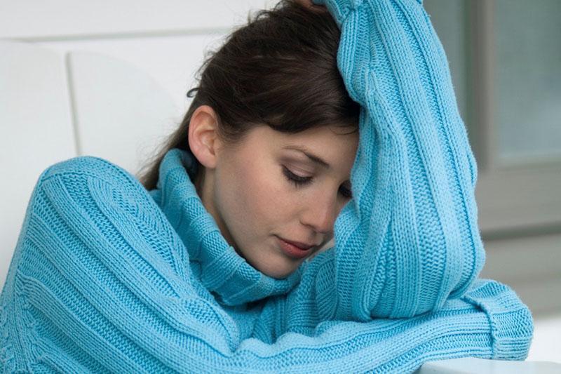 зимняя депрессия у женщин
