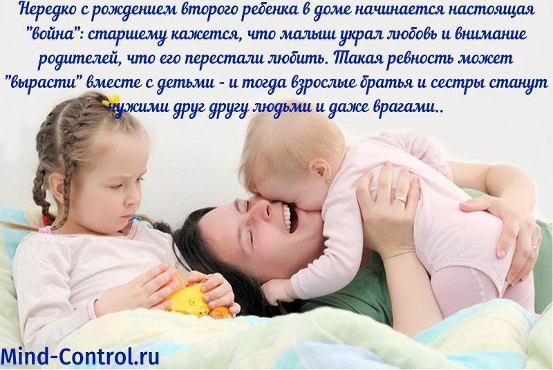 детская ревность и семья