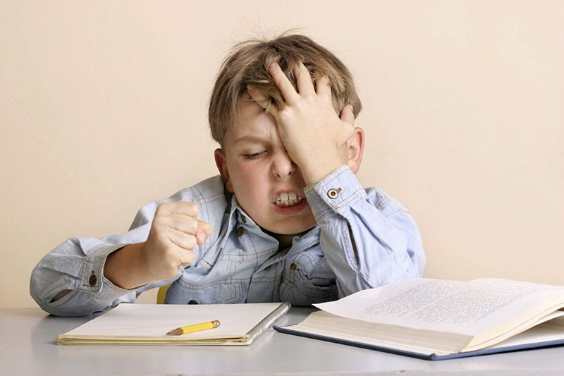 у ребенка стресс