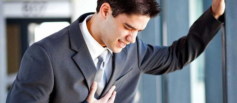 боль в груди и панический страх