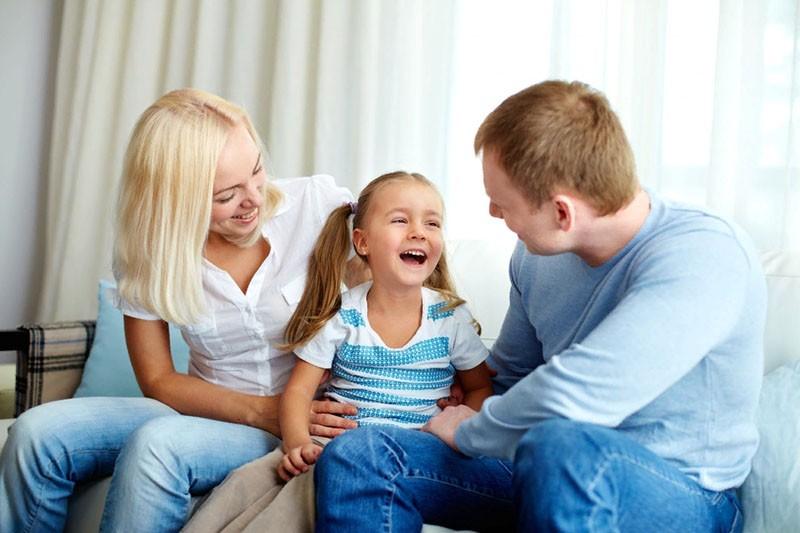 дружеские отношения с ребенком