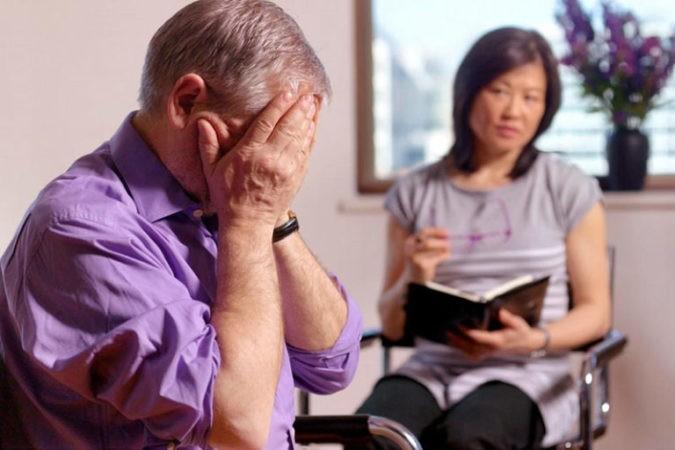 работа психотерапевта с клиентом